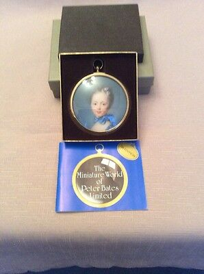 peter bates Children's Collection miniature No.18 - Unwanted Gift