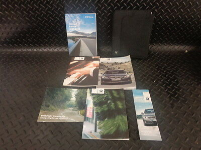 2007 Bmw 3 Series 320D E90 Owners Manual Handbook User Guide With Wallet