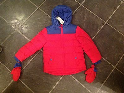 Boys Jacket Coat Age 4-5 Years NWT