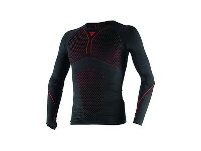 Dainese D-Core Thermo Longssleve Gr. M Schwarz/Rot - Funktionshemd