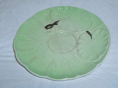 Carlton Ware Water Lily Saucer 6 inches