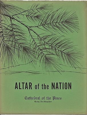 Altar of the Nation Cathedral of the Pines 1976 Brochure Rindge New Hampshire