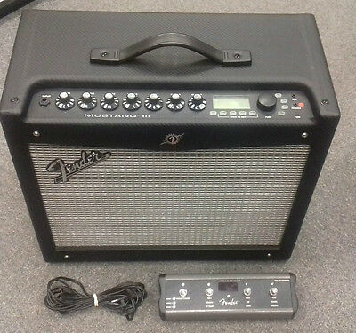 Fender Mustang 3 100w electric guitar amp, WITH 4 BUTTON FOOTSWITCH! pre owned
