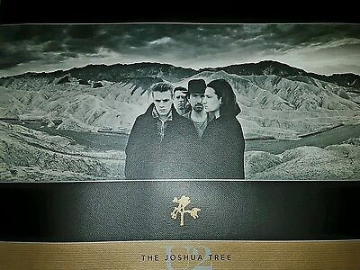 U2 lithograph limited edition. The joshua tree VERY RARE  392 OF 500 made .