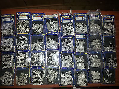 WARMASTER * HUGE ORC & GOBLIN ARMY (mostly new) * Unpainted Specialist Games