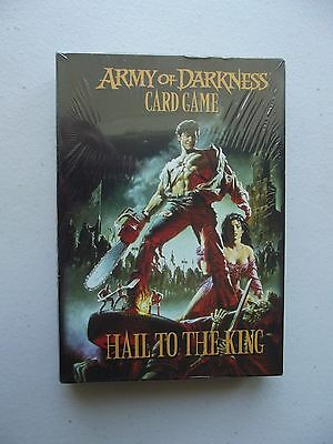 Army Of Darkness Card Game - Hail To The King NEW - UNOPENED - Out of Print