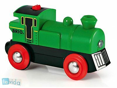 BRIO Battery Powered Engine for Wooden Train Set - 33595