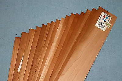 """17 3"""" x 24"""" sheets of beautiful Cherry hardwood. Mixed thicknesses!"""