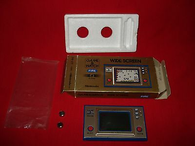 nintendo game and watch fire