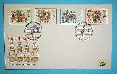 GB Illustrated First Day Cover - 1978 - Christmas -   Bethlehem handstamp
