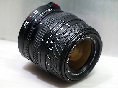 OBJECTIF SIGMA DL ZOOM 35-80 f5.6 1:4 POUR CANON