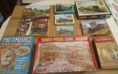 vintage jigsaw puzzles collection