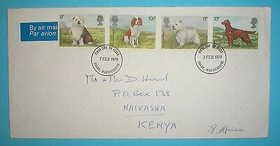 GB First Day Cover - 1979 - Dogs