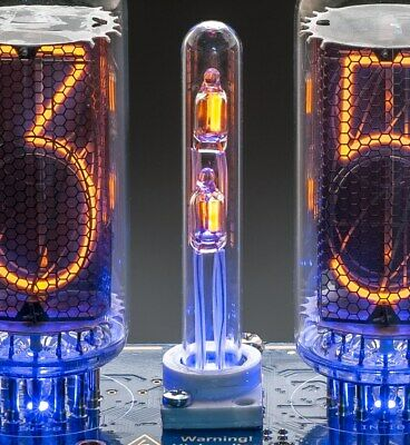 2 Dots Column with NE-2H neon Lamp + HOLDER for Nixie clock on IN-18 Z566 tubes