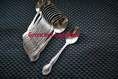 "60 Pieces Of Demitasse Spoons - Elegance Pattern ~  New In Boxes ~ 4 5/8""  Long"
