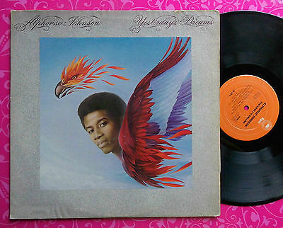 ALPHONSO JOHNSON Yesterdays Dreams LP USA 1stP 1976 EPIC 34364 EX *SCAPEGOAT*