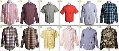 "JOB LOT OF 31 VINTAGE MEN""S SHIRTS - Mix of Era's, styles and sizes (21219)*"