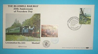 GB Cover - 1979 - Bluebell Railway special handstamp