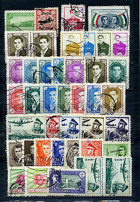 nice lot former PERSIAN EMPIRE, all postally used