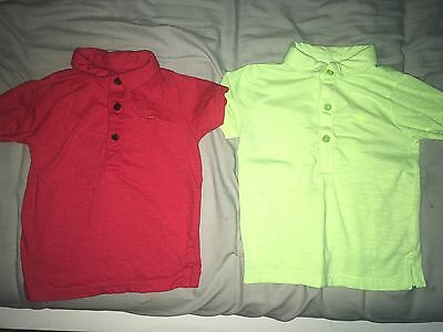 Boys Polo Shirts Brand New Without Tags 18-24 Months