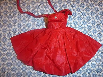 Vintage Vogue Ginny Red Dress With Label