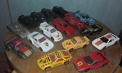 vintage matchbox/corgi porsches and 2 ferraris some rare