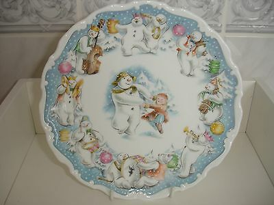 Royal Doulton Plate Dance Of The Snowman