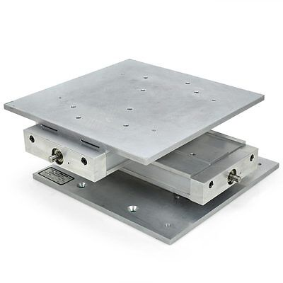 Velmex Unislide XY Positioning Stage, 12 x 12 inch surface, Motor-Ready