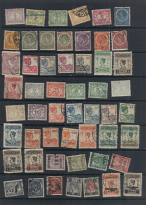 Netherlands Indies 1900-28 Used collection