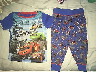 Blaze And The Monster Machine Pyjamas 18-24 Months Used