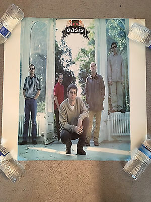 Oasis-The Masterplan Promo Poster-Liam Gallagher-Noel Gallagher-Double-Sided