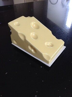 Vintage Swineside Yorkshire Ceramic Cheese Dish 1970s - Great Condition