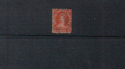 New Brunswick 1860-63 10c used