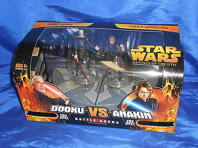 Star Wars Episode III Revenge Of The Sith Battle Arena Dooku Vs Skywalker 2005