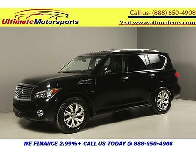 "2014 Infiniti QX80 Base Sport Utility 4-Door 2014 INFINITI QX80 NAV SUNROOF LEATHER HEATSEAT 20""ALLOYS 7PASS BLACK WARRANTY"