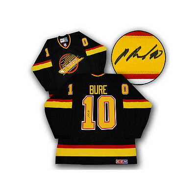 Pavel Bure Vancouver Canucks Signed CCM Jersey COA T1M Sports
