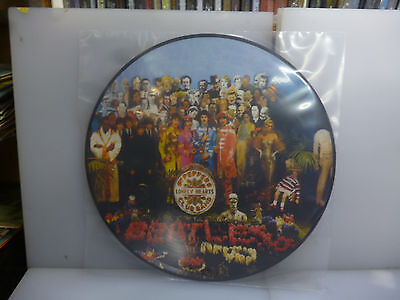 Beatles-Sergeant Pepper's Lonely Hearts Club Band.-Picture Vinyl Lp-New.sealed