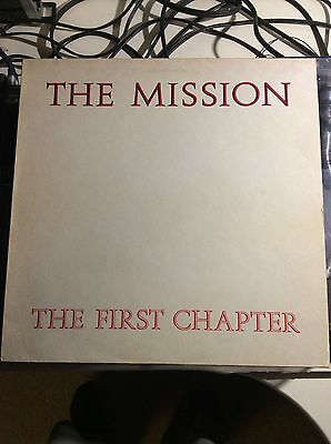 """The Mission - The First Chapter - Phonogram LTD - MISH1 - Vinyl 12"""""""