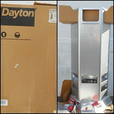 Dayton 4E237C Propane Construction Heater ~ 100,000 to 200,000 Btu/Hr USA NIB