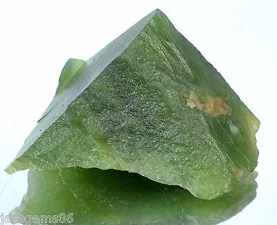 MGL Certified 62.00 CT. Natural Serpentine Rough Shaped Gemstone GN - 2392