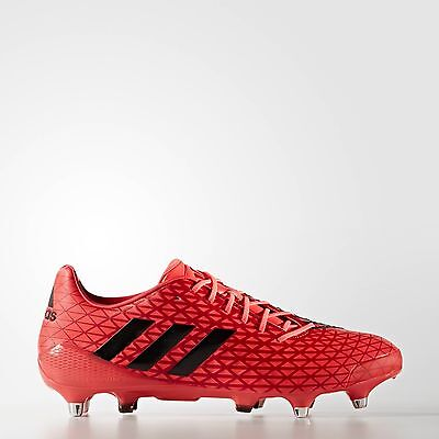 adidas PREDATOR MALICE SG Rugby Boots Shock Red Uk 11 Eur 46 rrp £140 EM30 04