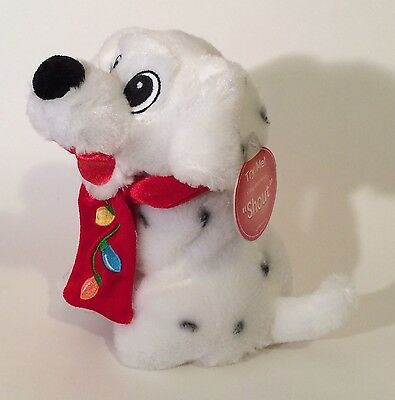 Shout Puppy Dog Soft Plush Dandee Sitting Stuffed Animal Sings Dances With Tags