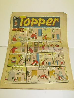 Topper,  No 831 Jan 4th 1969,    ( Used and worn)