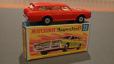 Vintage Matchbox Superfast No73 Mercury Commuter - Boxed in Mint Condition