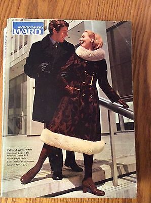 Rare Vintage 1970 Montgomery Ward Fall & Winter Catalog