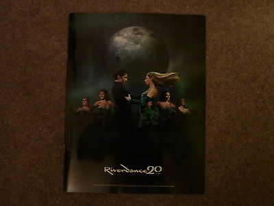 Riverdance 20 Years Commemorative Theatre Programme