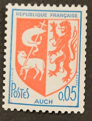 FRANCE 1966-Timbres YT 1468b Neuf** N° rouge au verso