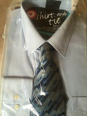 Men's Business Shirt With Tie Size 42