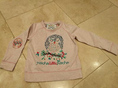 Debenhams, Rocha little Rocha girls 3-4 years jumper, sweater, owl design