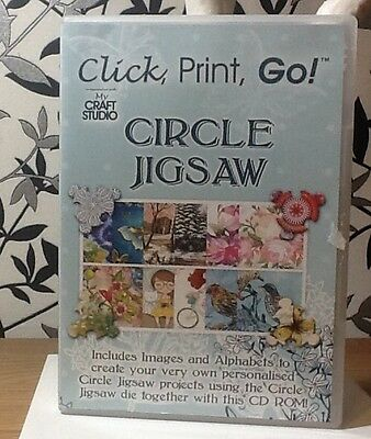 My Craft Studio Click,Print,Go! Circle Jigsaw CD-ROM Only